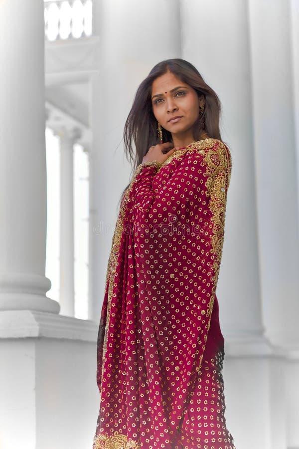 Indiańska elegancja zdjęcie stock