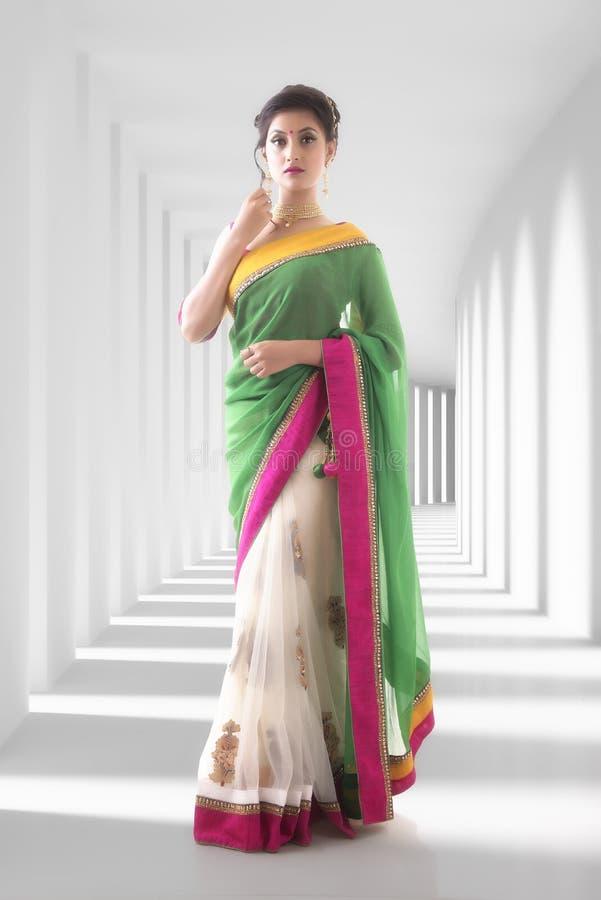 Indiańska etniczna odzież obrazy royalty free