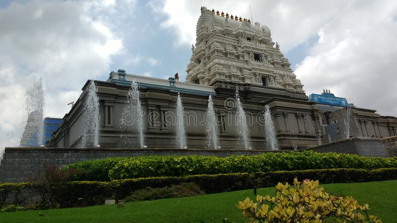 Indiańska Hinduska świątynia zdjęcia royalty free