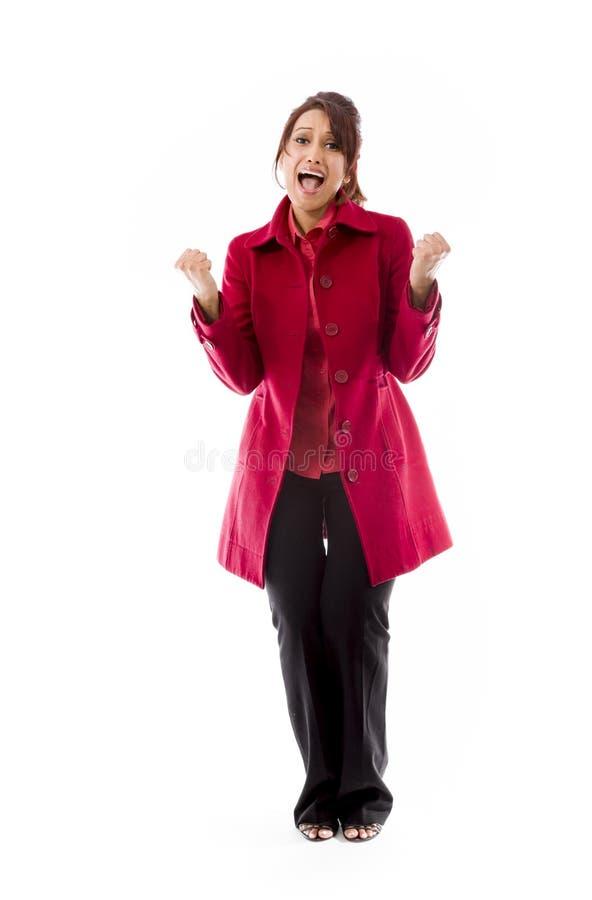 Download Indiańska Młoda Kobieta Krzyczy W Frustraci Zdjęcie Stock - Obraz złożonej z wysiłek, folował: 41950252