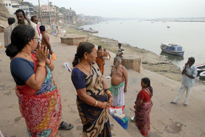 Indiańska pielgrzymka fotografia royalty free