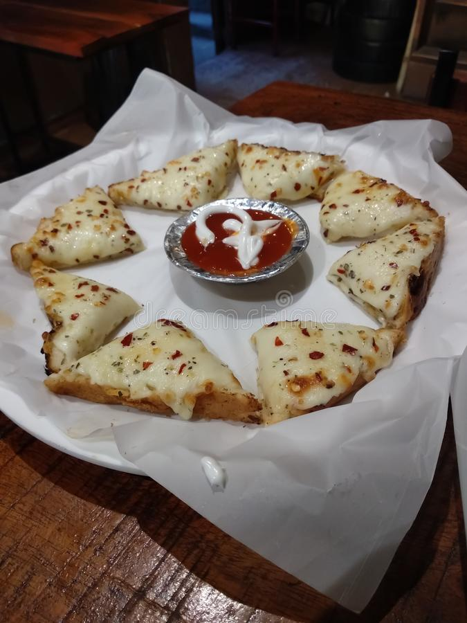 Indiańska serowa kanapka zdjęcia royalty free