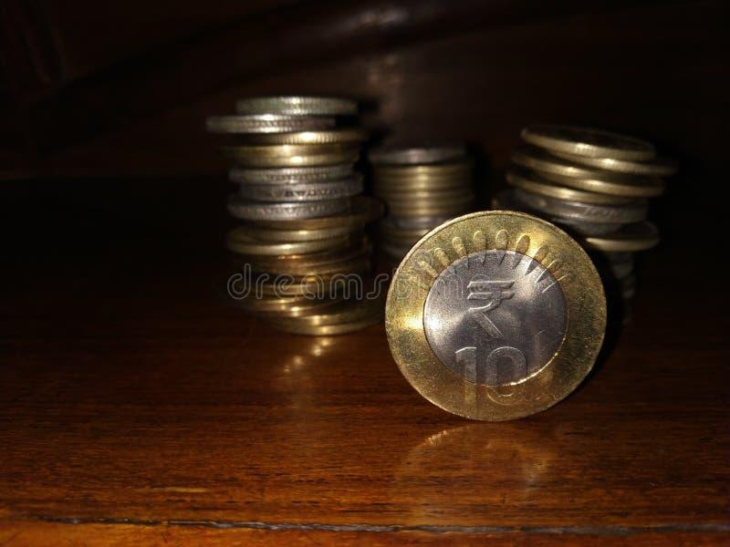 Indiańska Waluta zdjęcia stock