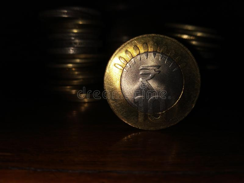 Indiańska Waluta obraz royalty free