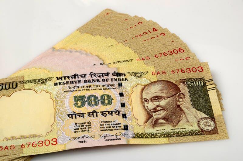 Indiańska Waluta obrazy royalty free