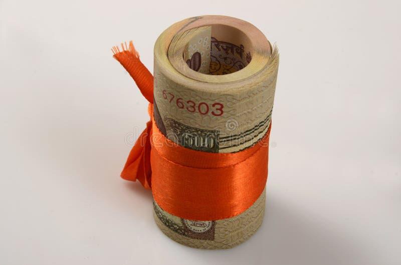 Indiańska Waluta fotografia stock
