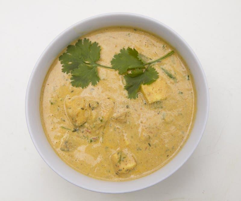 Indiańska Wyśmienicie kuchnia Paneer Tikka Masala, Shahi paneer obrazy royalty free