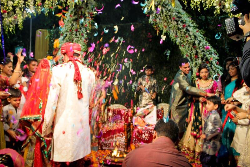 Indiański ślub obraz stock