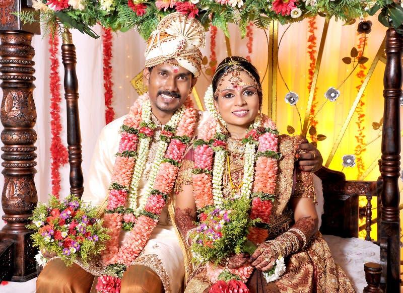 Indiański ślub zdjęcie stock