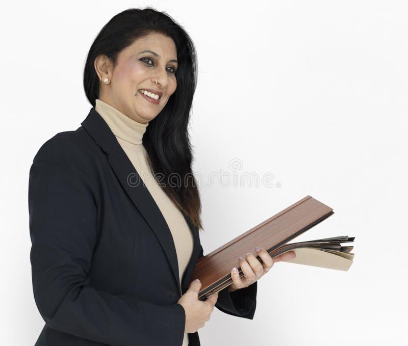 Indiański Azjatycki kobieta biznesu pojęcie zdjęcie stock