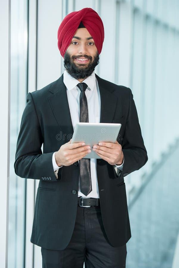 Indiański biznesmen zdjęcie stock