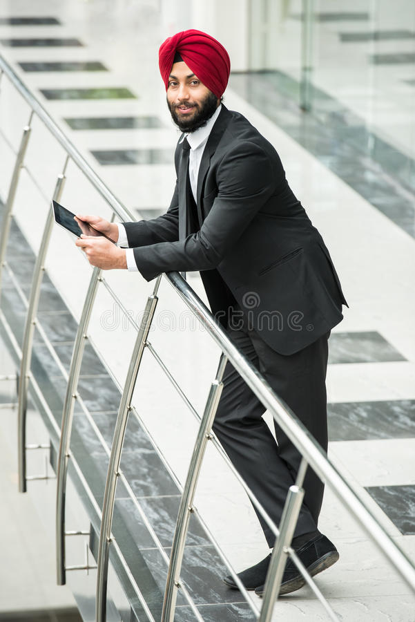 Indiański biznesmen fotografia stock