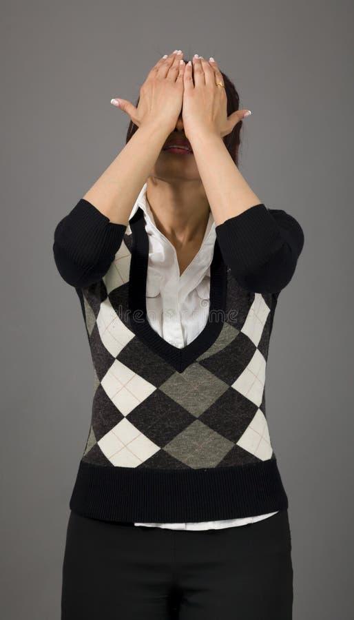 Download Indiański Bizneswoman Rozczarowywający Obraz Stock - Obraz złożonej z pionowo, potomstwa: 41950807