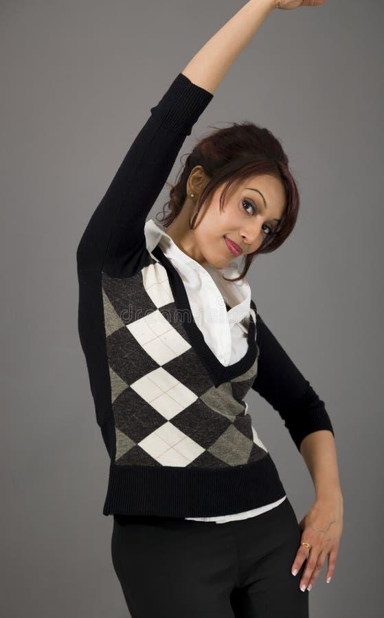 Download Indiański Bizneswomanu ćwiczyć Zdjęcie Stock - Obraz złożonej z zdrowy, pomyślność: 41950672