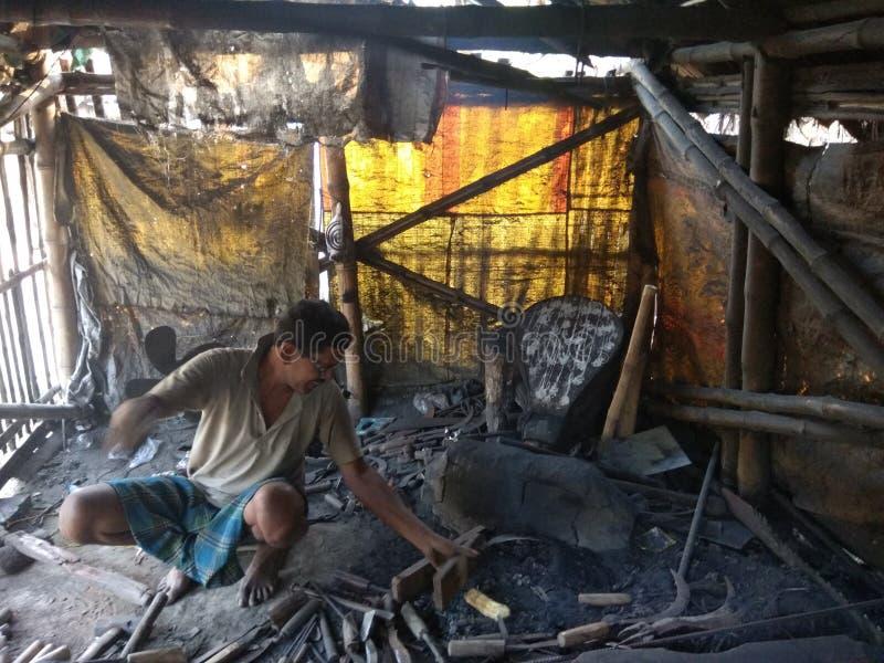 Indiański blacksmith zdjęcia royalty free