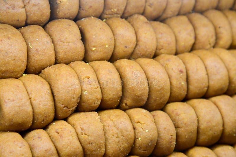 Indiański cukierki - Mathura Peda zdjęcia royalty free