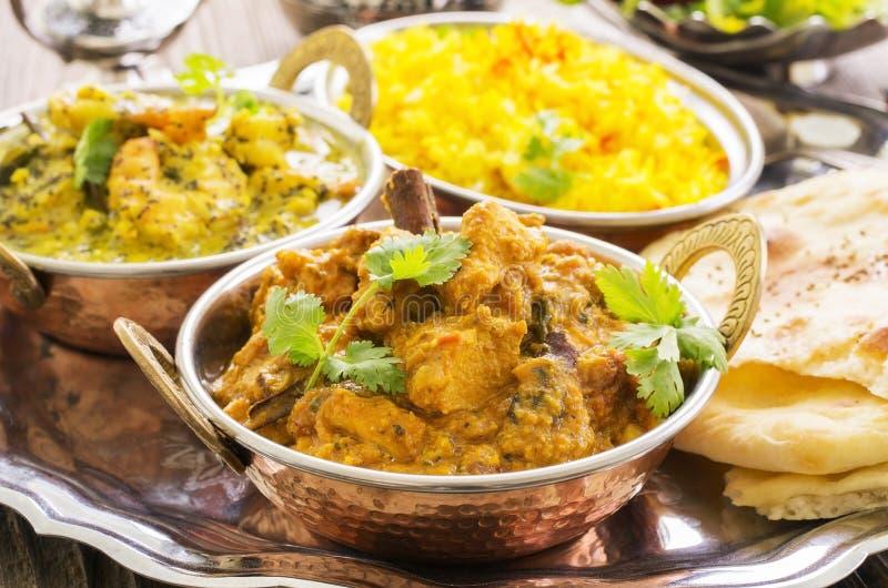 Indiański Curry zdjęcia royalty free