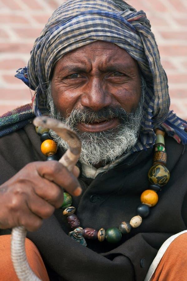 Indiański Fakir, India zdjęcia stock
