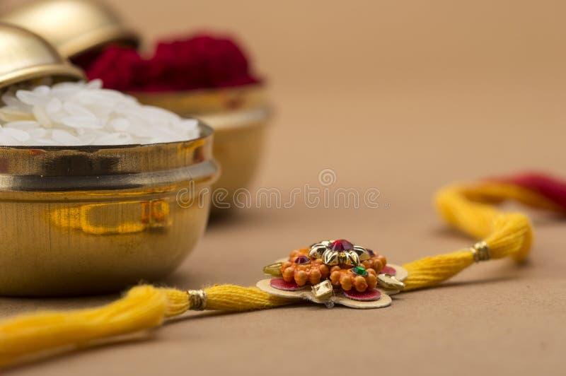 Indiański festiwal: Raksha Bandhan, Rakhi obraz stock