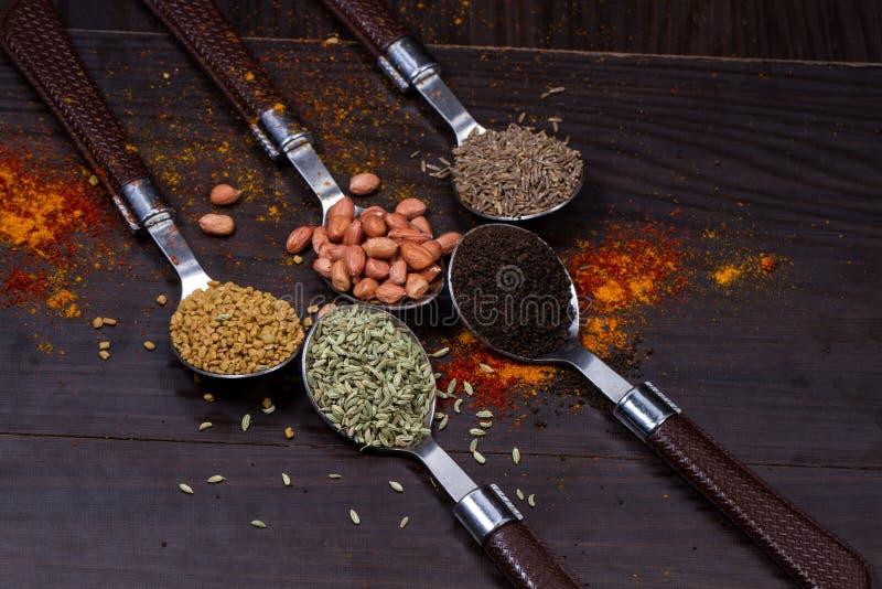 Indiański jedzenie proszek obraz stock