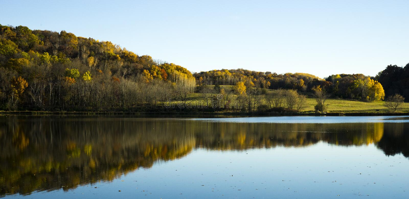 Indiański jezioro fotografia stock