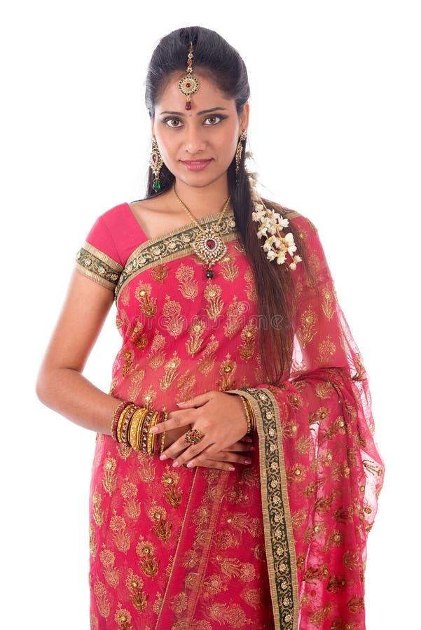 Indiański kobiety portait zdjęcia royalty free