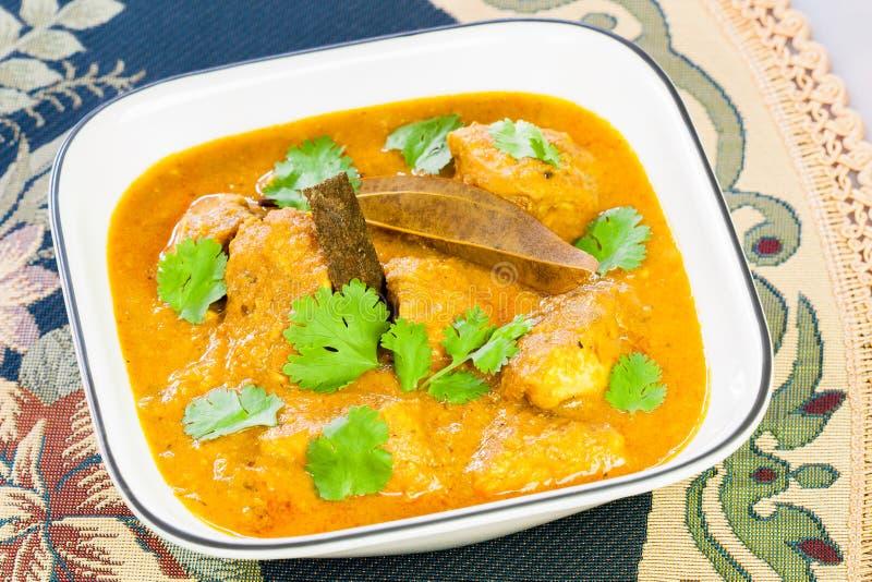 Indiański kurczaka curry obrazy stock