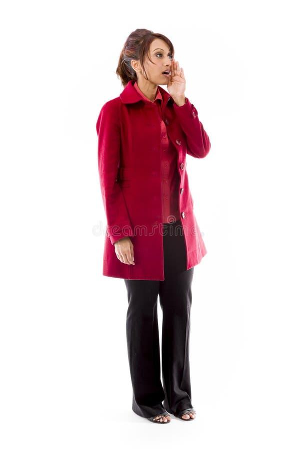 Download Indiański Młodej Kobiety Szeptać Zdjęcie Stock - Obraz złożonej z human, otwarty: 41950278