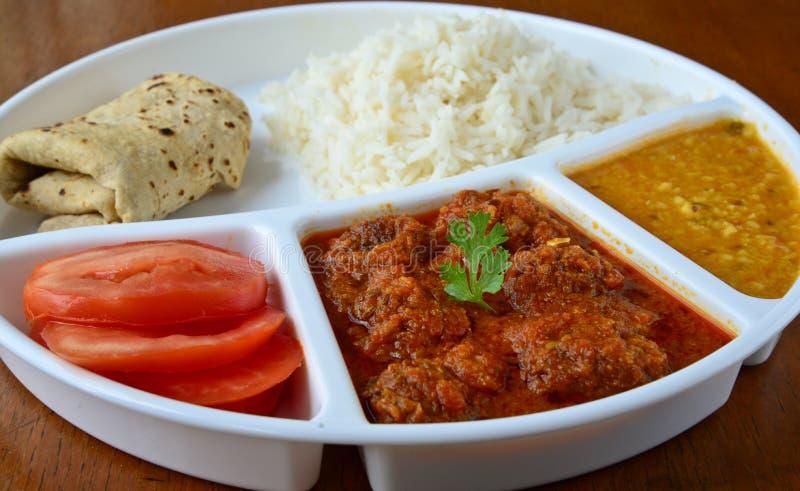 Indiański posiłek fotografia stock