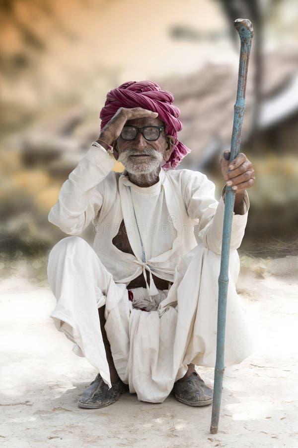 Indiański rolnik obrazy royalty free