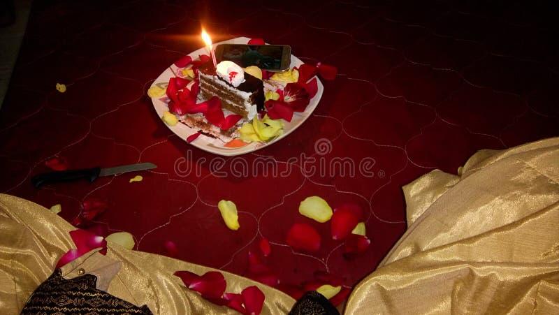 Indiański urodzinowy świętowanie obraz stock