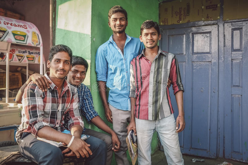 Indiańskie młodość obraz stock