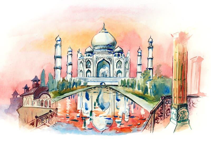 India ilustração royalty free