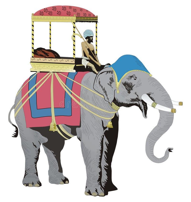 India royalty free illustration