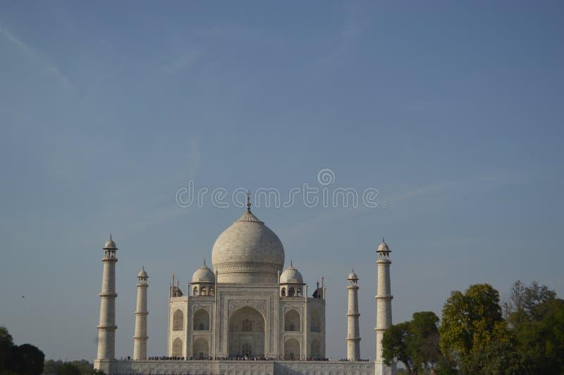 India, Agra: Taj Mahal royalty-vrije stock afbeeldingen