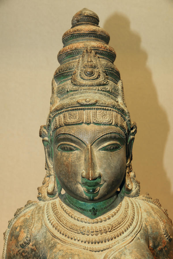 Free India Ancient Bronze Statue Royalty Free Stock Photos - 41524338