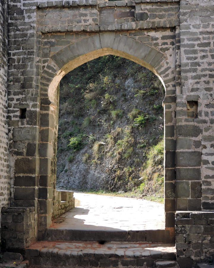 Download India Architecture Exterior Arched Door Kangra Fort Stock Photo - Image: 63778491