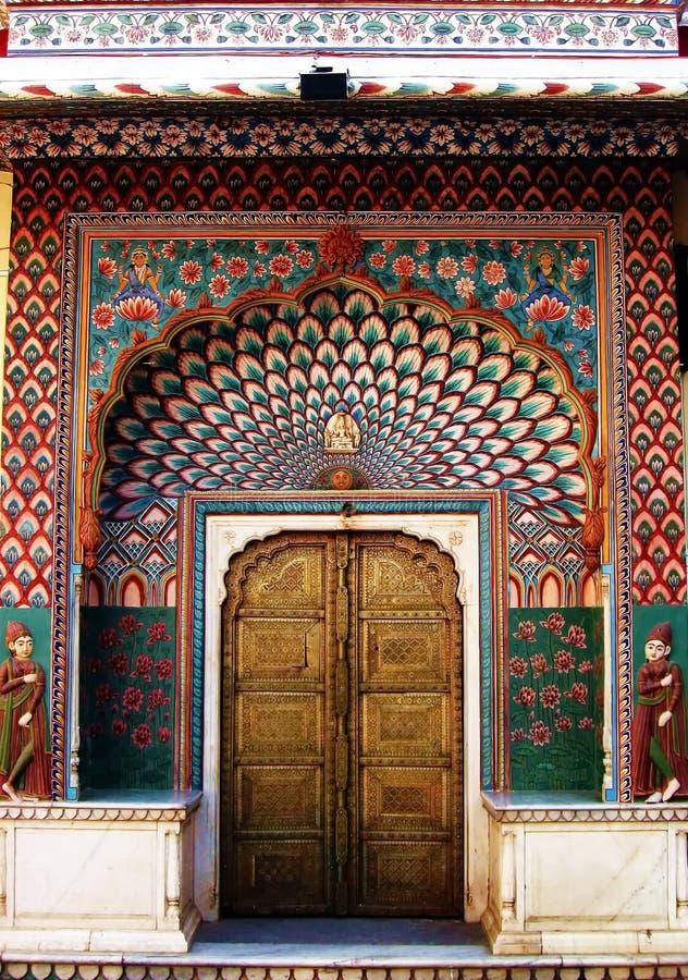 Download India Architecture Exterior Doorway Stock Photo - Image: 60611992