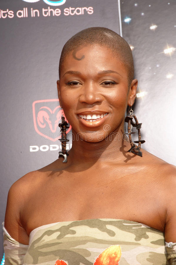 India Arie. Singer INDIA ARIE at the 2006 BET Awards in Los Angeles.. June 27, 2006 Los Angeles, CA 2006 Paul Smith / Featureflash stock image