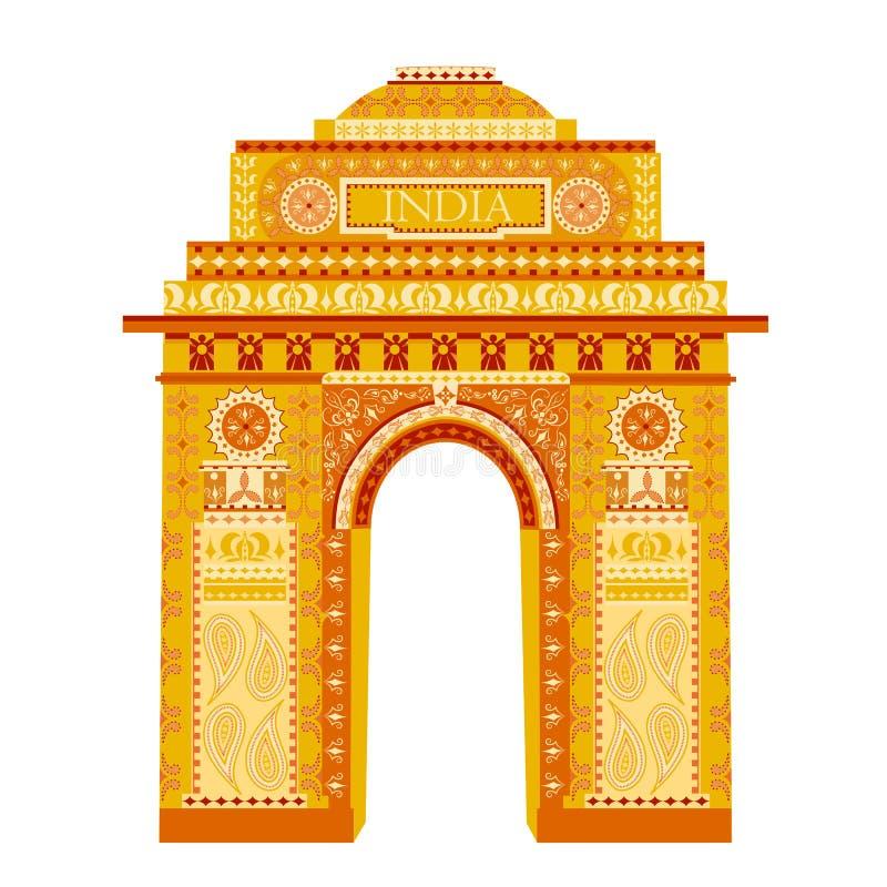 India brama ilustracji