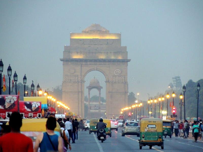 India bramy Frontowy widok zdjęcia stock