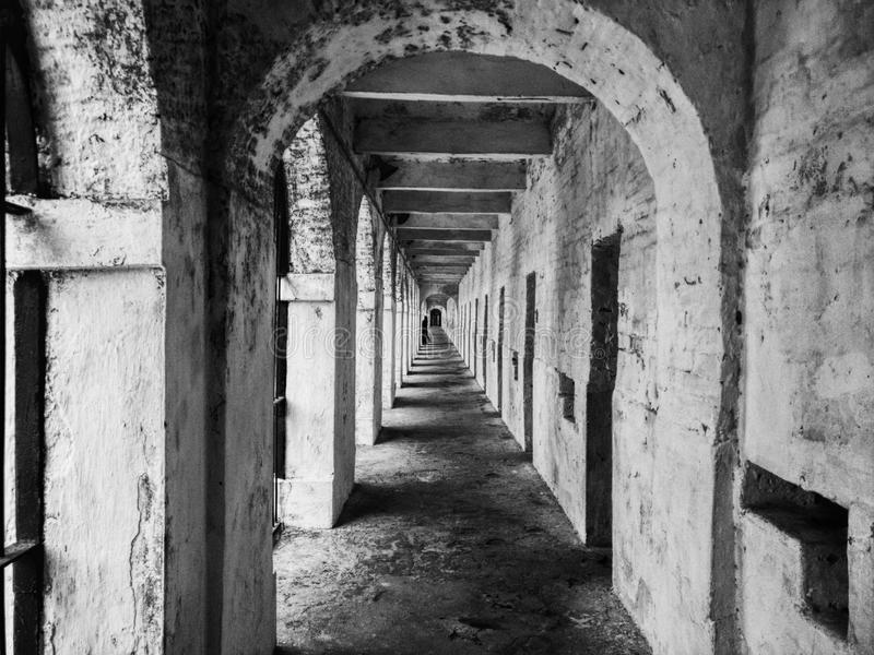 @India cellulare della prigione fotografie stock libere da diritti