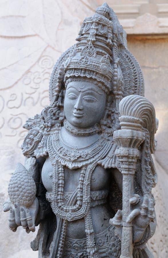 India, Chennakesava świątynia w Hassan obrazy royalty free