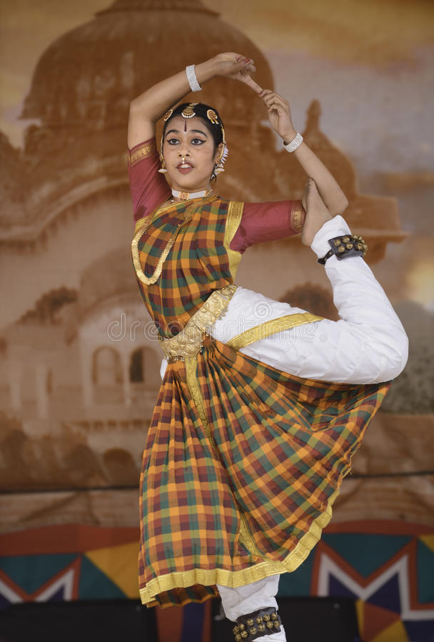 India dancers stock images