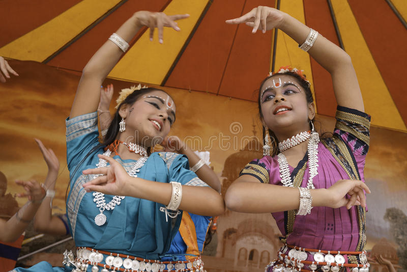 India dancers royalty free stock images