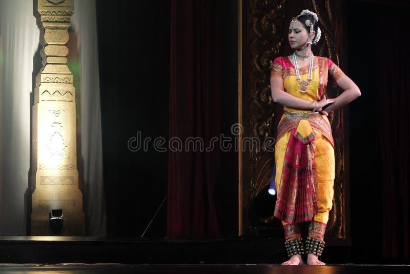 India dancing royalty free stock photo