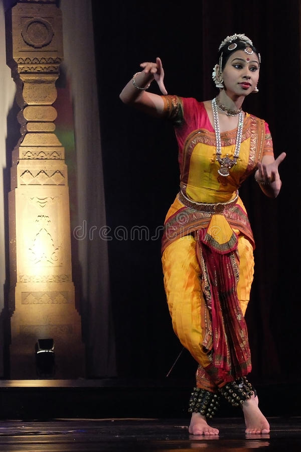 India dancing royalty free stock photos
