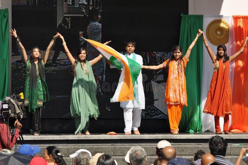 India Day in Toronto stock photos