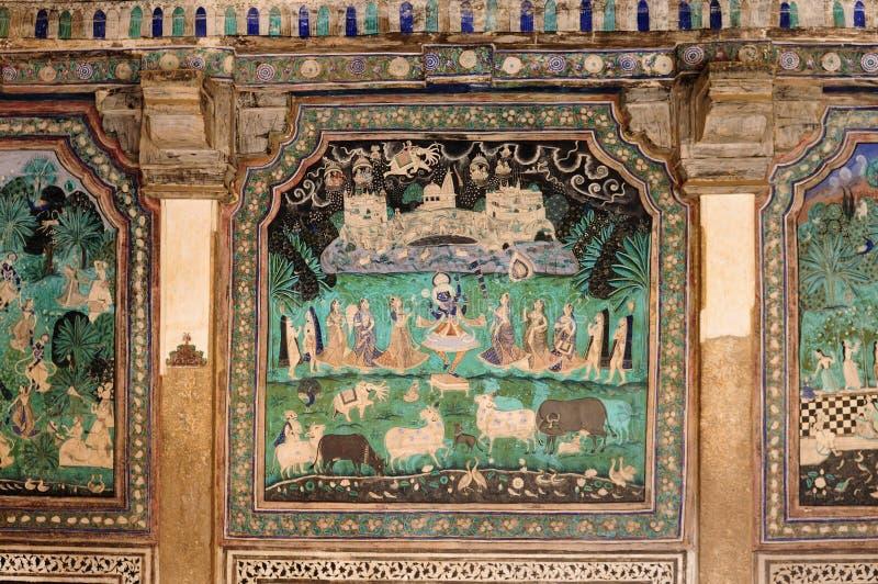 Indian palace, Bundi royalty free stock image