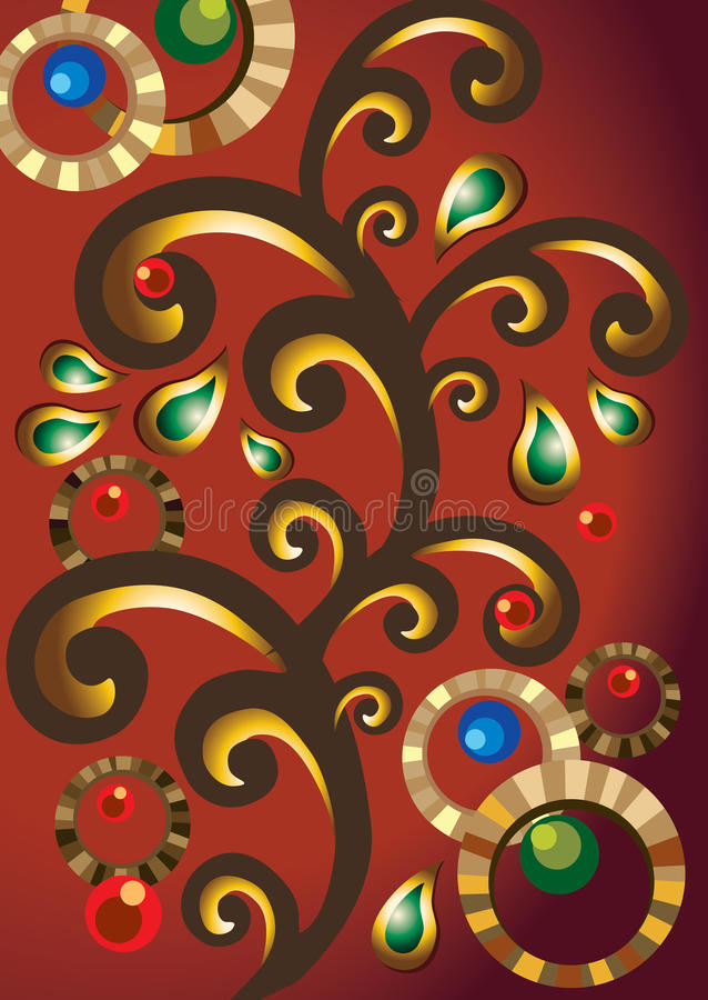 Download India Elements Indian Jewels Ornament Stock Vector - Image: 26851687